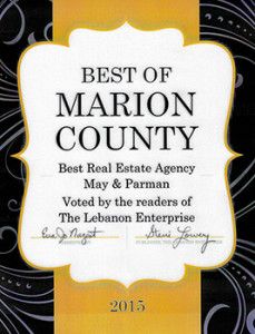 Voted Best Real Estate in Marion County 2015