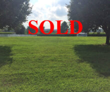 Sold – Building Lot in Calvary