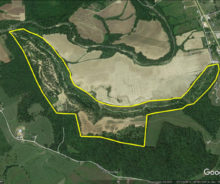 143 Acres of Wooded and Cleared Land