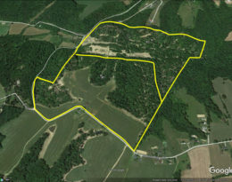 155 Acres M/L. -Ideal Hunting Tract or Cropland