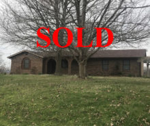 SOLD – Home In January Woods In Lebanon KY