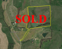 Sold – 36 Acres M/L.  With 3 Acre Stocked Lake