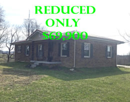 ONLY $69,900 – Brick Home On Danville Hwy.