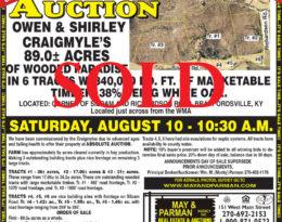 Sold – 96.7 Acres M/L.
