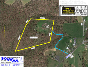 SOLD – 18.5 Acres at Auction Bringing $5,000 Per Acre