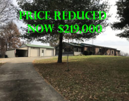 Nice Brick Home 10 Acres With Sucluded Setting