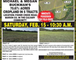 Coming Auction – 70.67Acres M/L. Fisher Creek Road