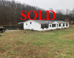 Sold – Home On 12.57 Acres With Lake In Liberty KY.