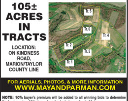 Coming Absolute Auction – 105 Acres M/L.