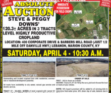 Coming Absolute Auction – 120 Acres