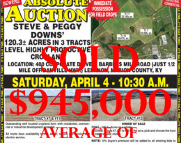 Sold 120 Acres At Absolute Auction