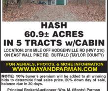 Absolute Auction – 60.9 Acres M/L.