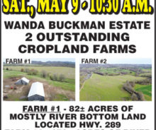 2 Farms At Absolute Auction