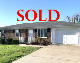 Sold –  3 Bedroom 1 Bath Brick Ranch