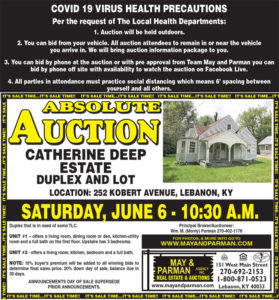 Sold At Auction – House And Lot