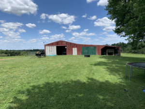 Sold – Barn Home, Tiny House, Barns & 10.88 Acres M/L.