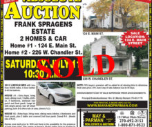 Sold At Auction – 2 Homes In Lebanon KY.