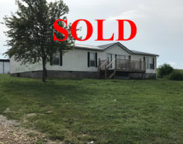 Sold – Double Wide On 3.81 Acres