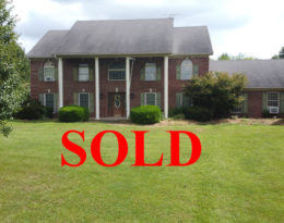 SOLD – Two-story Brick Home Almost 4 acres Located On The Edge Of The City Limits
