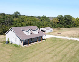 1 1/2 Story Home Full Basement – Shop – 5.75 Acres M/L.