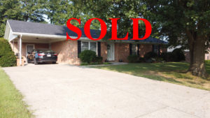 SOLD – Nice Brick Ranch Priced Under $140,000