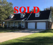 Sold – 1 ½ Story Cape Cod Style Home With 2-Car Garage