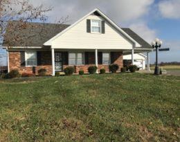 1 1/2 Story Brick Home – 24 x 54 Garage – 2 acres M/L. Loretto, KY.