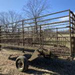 Livestock Wagon With Lift