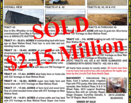 Sold – Absolute Auction