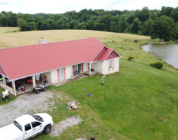 Home, Barns And 41 Acres In Liberty Ky.