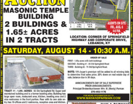 Absolute Auction – 2 Buildings & 1.7 Acres In 2 Tracts