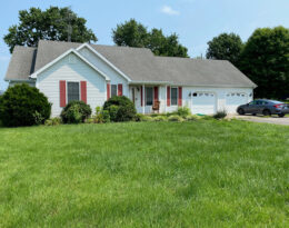 4 Bedroom 3 Bath Home Located Just Past Lebanon County Club