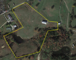 11 Acres M/L. With Barn, Pond and Fencing