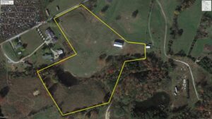 Sold – 11 Acres M/L. With Barn, Pond and Fencing