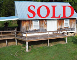 Sold – 7.5 Acres With Cabin and Pond