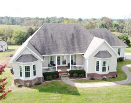 Home On 4.5 Acres With 2 Car Garage